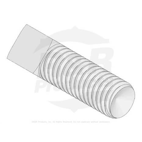 SCREW - 8MM-1.25 X 25 SQ HD - RA50744