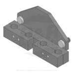 Holder - tine 4 x 3/4 mt - RAMT1831