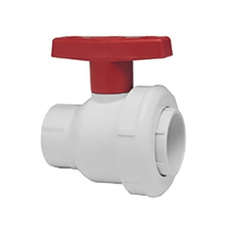 3 pvc se ball valve thd viton - RG2431030W