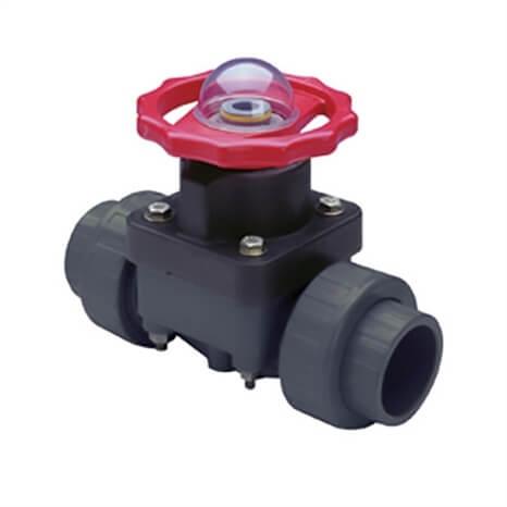 1-1/4 PVC DIAPHRAGM VALVE EPDM - RG2729012