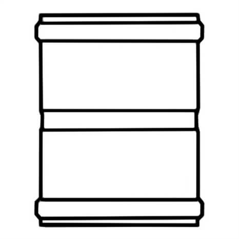 8 PVC COUP GSKT 80PIP - RG290100091