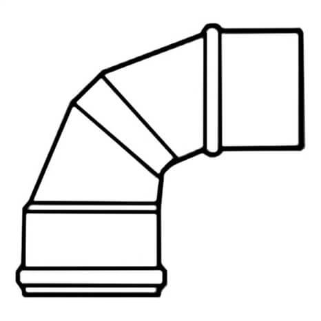 12 PVC 90 ELL GSKXSPG 100PIP - RG300100881