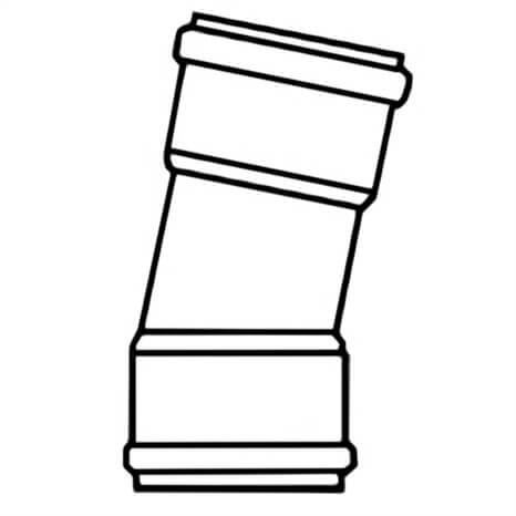 4 PVC 11-1/4 ELL GSKT CL125 - RG330100209
