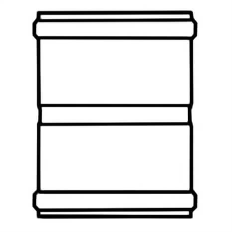 10 PVC COUP GSKT CL160 - RG340100092