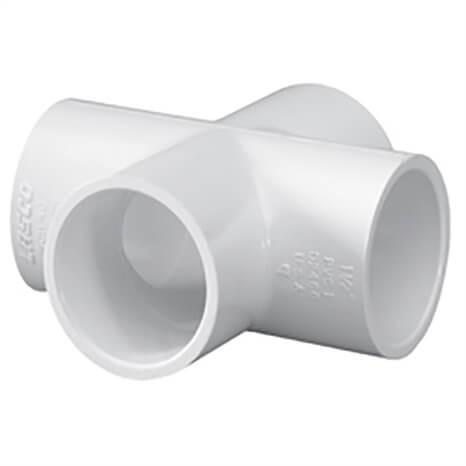 1 PVC CROSS SOC SCH40 - RG420010