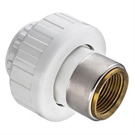2 PVC UNION SOCXBRFPT BUNA - RG459020BR