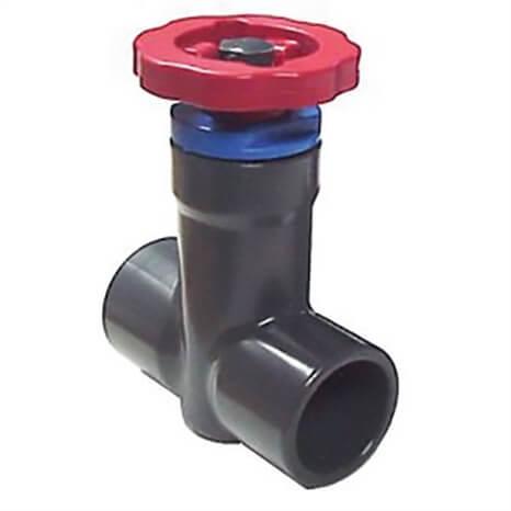 1-1/4 PVC PLUG GATE VALVE EPDM SR/T - RG5221012SR