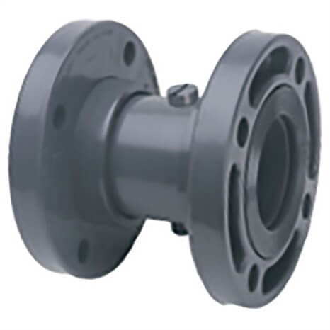 4 PVC BUTTERFLY CHECK VALVE FLANGED - RG5433040