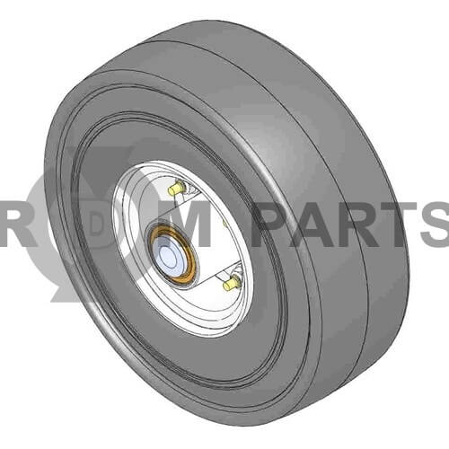 Wheel - assy-foam filled 10X3.5-4SM - R93-5973