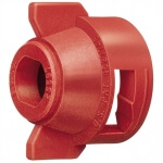 TeeJet Cap - 25598-3 Red, 20 Bar - RTJ25598-3-NYR
