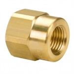 TeeJet Adapter 1/4IN  Brass BSPT - RTJB4676-14