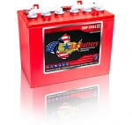 Batterij 12V-145 AMP Deep Cycle - RDM-US12VRX