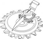 Onderwater maaier - 1758